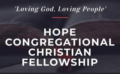 HOPE FELLOWSHIP Service March 29, 2020